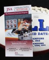 O.J. Simpson Signed Bills Logo Football (JSA COA) at PristineAuction.com