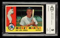 Mickey Mantle 1960 Topps #350 (BCCG 9) at PristineAuction.com
