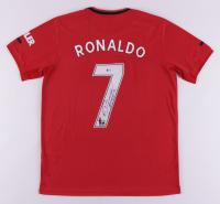 Cristiano Ronaldo Signed Manchester United Jersey (Beckett COA) (See Description) at PristineAuction.com