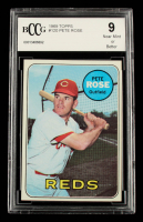 Pete Rose 1969 Topps #120 (BCCG 9) at PristineAuction.com