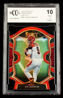 Joe Burrow 2020 Select Prizm Red Die Cut #46 (BCCG 10) at PristineAuction.com