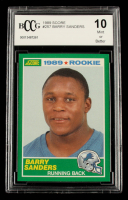 Barry Sanders 1989 Score #257 RC (BCCG 10) at PristineAuction.com