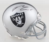 Maxx Crosby Signed Raiders Mini Helmet (JSA COA) at PristineAuction.com