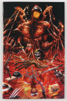 """Tyler Kirkham Signed 2019 """"Absolute Carnage"""" Issue #1 Virgin Edition Marvel Comic Book (Unknown Comics COA) at PristineAuction.com"""