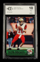 Tom Brady 2000 Pacific #403 RC (BCCG 10) at PristineAuction.com