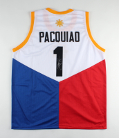Manny Pacquiao Signed Jersey (Pacquiao COA) at PristineAuction.com
