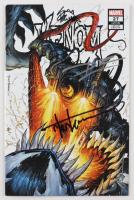 "Tyler Kirkham, Donny Cates & Ryan Stegman Signed 2020 ""Venom"" Issue #27 Marvel Comic Book (Unknown Comics COA) at PristineAuction.com"
