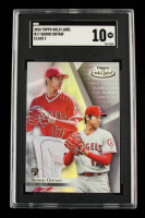 Shohei Ohtani 2018 Topps Gold Label Class 1 #17 RC (SGC 10) at PristineAuction.com