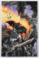 "Tyler Kirkham Signed 2017 ""Dark Knights: Metal"" Issue #1 Kirkham Variant Marvel Comic Book (Unknown Comics COA) at PristineAuction.com"