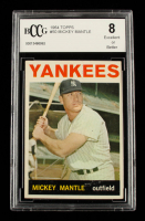 Mickey Mantle 1964 Topps #50 (BCCG 8) at PristineAuction.com