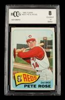 Pete Rose 1965 Topps #207 (BCCG 8) at PristineAuction.com