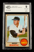 Mickey Mantle 1968 Topps #280 (BCCG 9) at PristineAuction.com