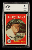 Mickey Mantle 1959 Topps #10 (BCCG 8) at PristineAuction.com