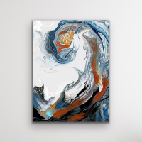 """Cessy """"Tidal Wave"""" 24x32 Print at PristineAuction.com"""
