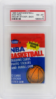 1986 Fleer Basketball Wax Pack with (12) Cards (PSA 8) at PristineAuction.com