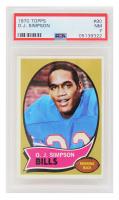 O.J. Simpson 1970 Topps #90 RC (PSA 7) at PristineAuction.com