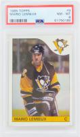 Mario Lemieux 1985-86 Topps #9 RC (PSA 8) at PristineAuction.com