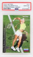 Anna Kournikova 2003 NetPro International Series #10 RC (PSA 10) at PristineAuction.com