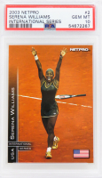 Serena Williams 2003 NetPro International Series #2 RC (PSA 10) at PristineAuction.com