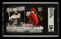 Babe Ruth / Shohei Ohtani 2018 Topps Now Moment of the Week #MOW1 (SGC 10) at PristineAuction.com