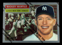 Mickey Mantle 1996 Topps Mantle Finest #6 1956 Topps at PristineAuction.com