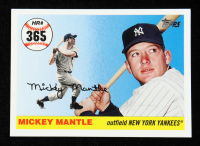Mickey Mantle 2006 Topps Mantle Home Run History #365 at PristineAuction.com