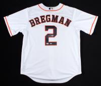 Alex Bregman Signed Astros Jersey (Fanatics Hologram & MLB Hologram) at PristineAuction.com