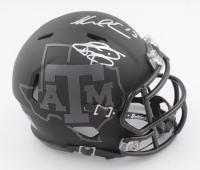 Johnny Manziel & Mike Evans Signed Texas A&M Aggies Speed Mini Helmet (JSA COA) at PristineAuction.com