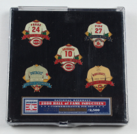 2000 Baseball HOF Inductees LE Commemorative Pin Set with Case at PristineAuction.com