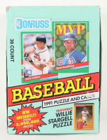 1991 Donruss Series 2 Baseball Box of (36) Packs at PristineAuction.com