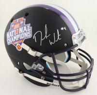 Deshaun Watson Signed Clemson Tigers 2016 National Championship Commemorative Matte Black Full-Size Helmet (Beckett COA) at PristineAuction.com