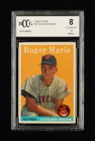 Roger Maris 1958 Topps #47 RC (BCCG 8) at PristineAuction.com