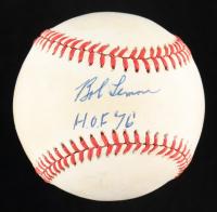 "Bob Lemon Signed OAL Baseball Inscribed ""HOF 76"" (PSA COA) at PristineAuction.com"