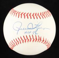 "Rollie Fingers Signed OAL Baseball Inscribed ""HOF 92"" (PSA COA) at PristineAuction.com"