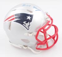 N'Keal Harry Signed Patriots Speed Mini Helmet (Beckett COA) at PristineAuction.com