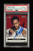 Larry Holmes Signed 2012 Leaf National Convention #LH1 (PSA Encapsulated) at PristineAuction.com