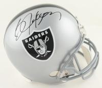 Bo Jackson Signed Raiders Full-Size Helmet (Beckett COA & Jackson Hologram) at PristineAuction.com