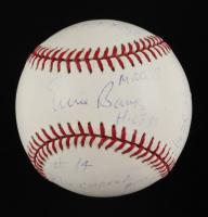 Ernie Banks Signed LE OML Baseball with (13) Career Inscriptions (PSA COA & Banks Hologram) at PristineAuction.com