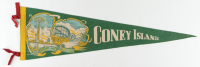 Vintage Coney Island Pennant at PristineAuction.com