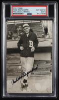 Rube Marquard Signed Braves Photo Postcard (PSA Encapsulated) at PristineAuction.com