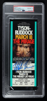 """Mike Tyson Signed """"The Mirage"""" Original $600 Boxing Ticket (PSA Encapsulated) at PristineAuction.com"""