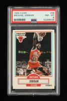 Michael Jordan 1990-91 Fleer #26 (PSA 8) at PristineAuction.com