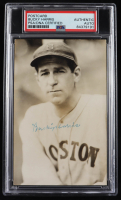 Bucky Harris Signed Red Sox Photo Postcard (PSA Encapsulated) at PristineAuction.com