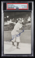 Phil Rizzuto Signed Yankees Photo Postcard (PSA Encapsulated) at PristineAuction.com