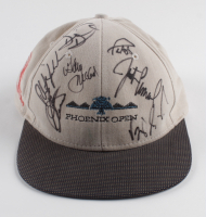 1999 Phoenix Open Golf Hat Signed by (9) with Phil Mickelson, Payne Stewart, Vijay Singh, Justin Leonard (Beckett LOA) at PristineAuction.com