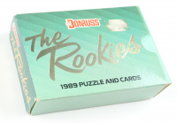 1989 Donruss The Rookies Box Set Of (56) Cards and (15) Piece Puzzle at PristineAuction.com