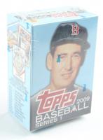 2009 Topps Series 1 Baseball Box with (56) Cards at PristineAuction.com