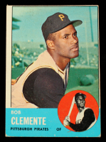 Roberto Clemente 1963 Topps #540 at PristineAuction.com