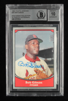 Bob Gibson Signed 1990 Pacific Legends #28 (BGS Encapsulated) at PristineAuction.com