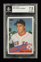 Roger Clemens 1985 Topps #181 RC (BVG 7.5) at PristineAuction.com